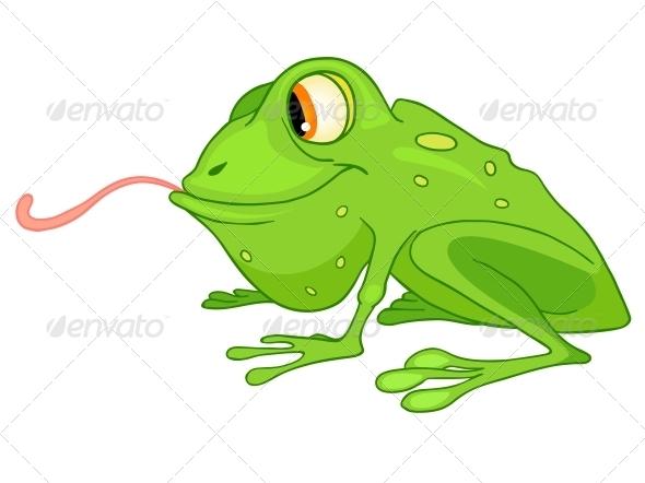 Cartoon Character Frog - Animals Characters