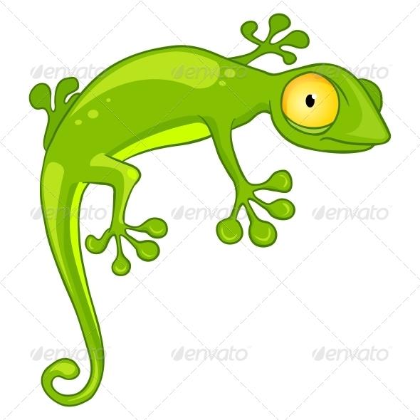 Cartoon Character Lizard - Animals Characters