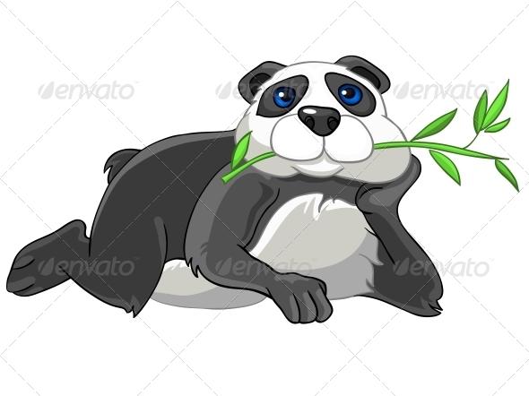 Cartoon Character Panda - Animals Characters