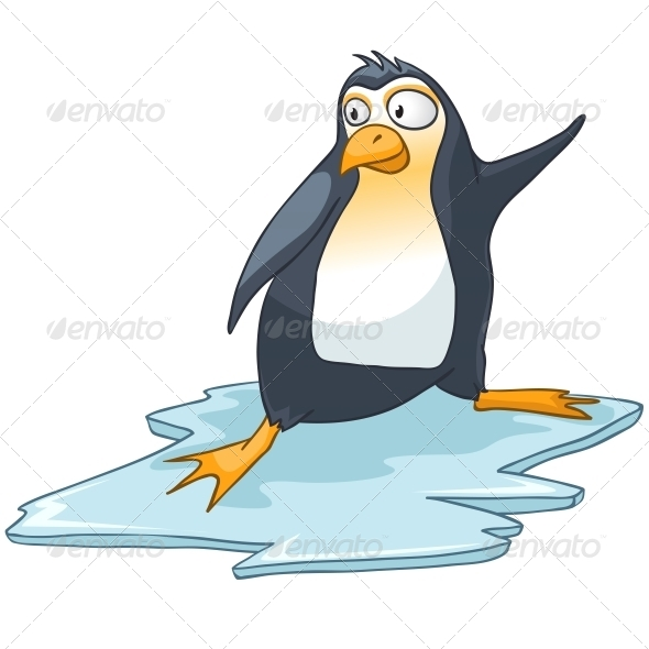 Cartoon Character Penguin - Animals Characters