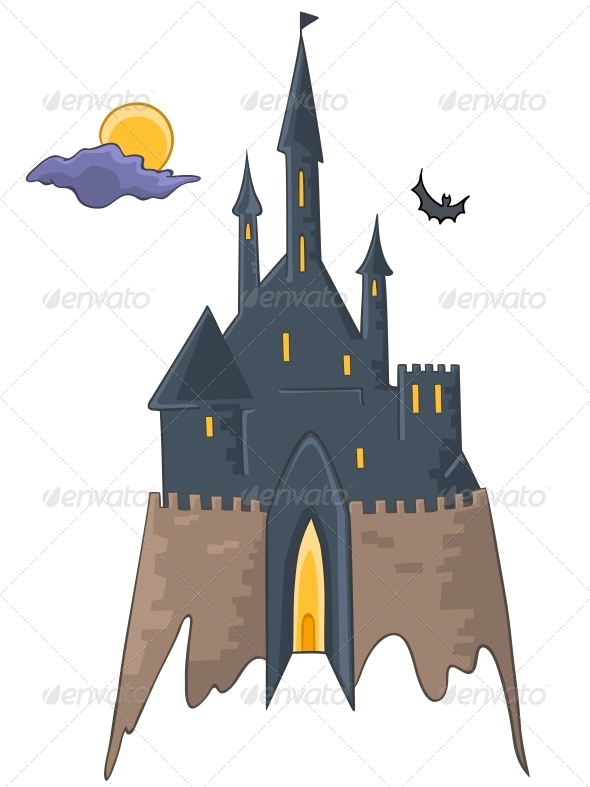 Cartoon Castle - Buildings Objects