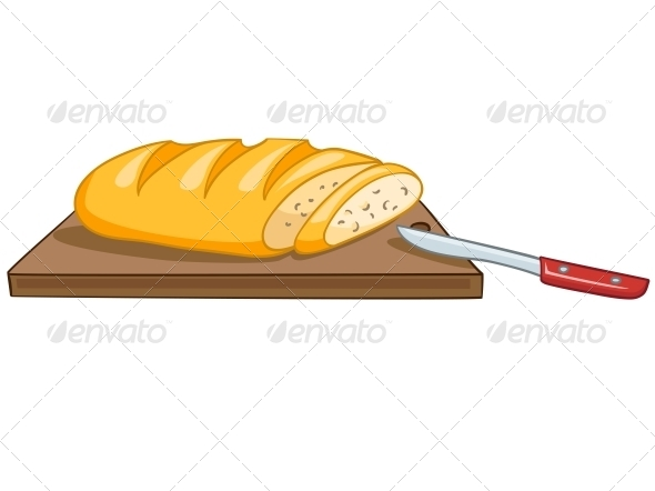 Cartoon Food Bread - Miscellaneous Characters