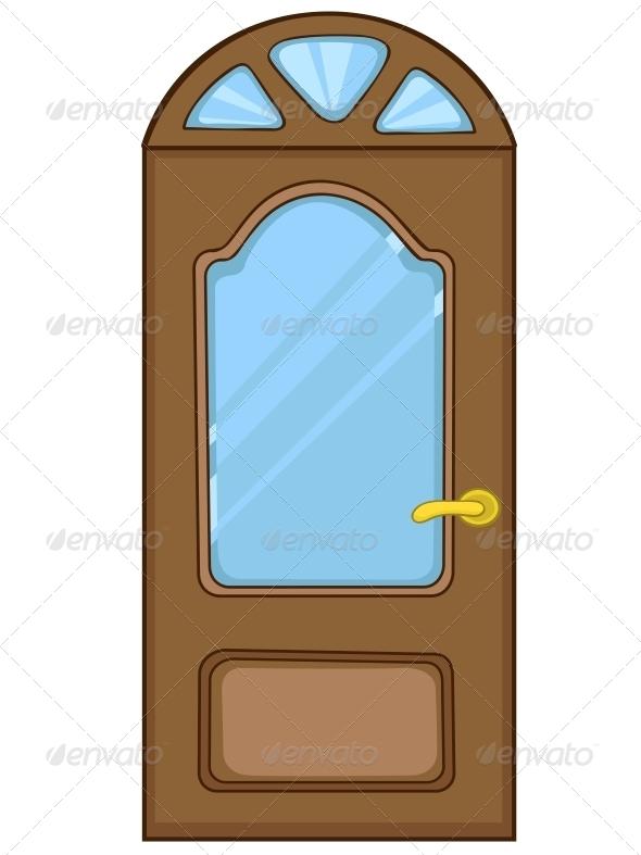 Cartoon Home Door - Miscellaneous Characters  sc 1 st  GraphicRiver & Cartoon Home Door by RAStudio | GraphicRiver