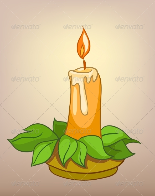 Cartoons Decoration Candle - Miscellaneous Characters