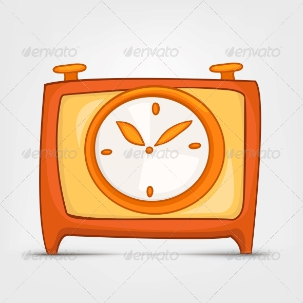 Cartoon Home Clock - Miscellaneous Characters