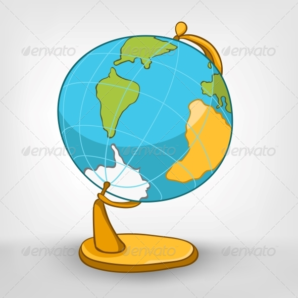 Cartoons Decoration Globe - Miscellaneous Characters