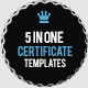 Certificate Pack - GraphicRiver Item for Sale