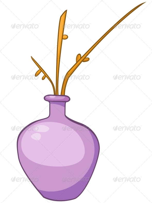Cartoon Home Vase - Miscellaneous Characters