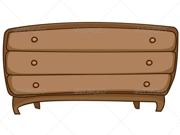 Cartoon Home Furniture Chest of Drawers - Miscellaneous Characters