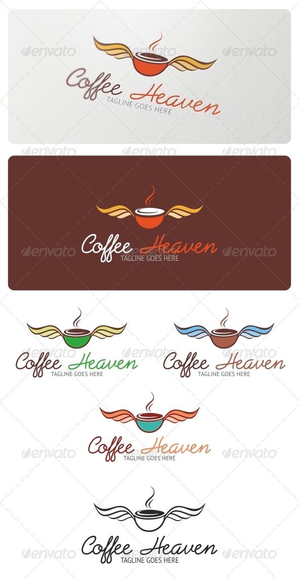 Coffee Heaven Logo Template - Symbols Logo Templates