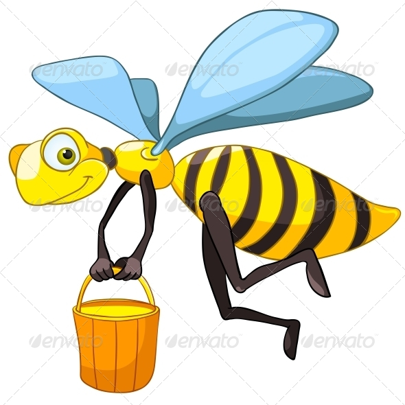 Cartoon Character Bee - Miscellaneous Characters