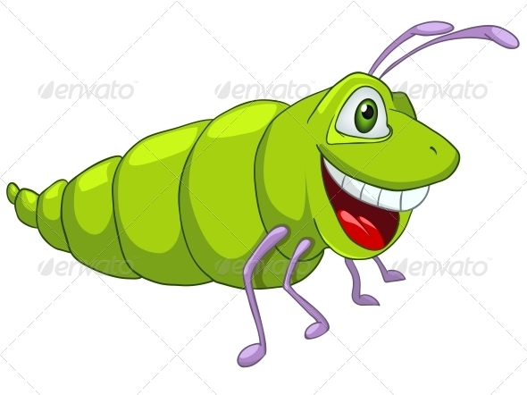 Cartoon Character Caterpillar - Miscellaneous Characters