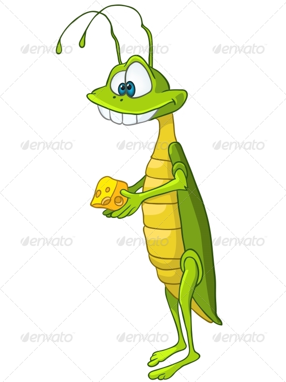 Cartoon Character Locust - Miscellaneous Characters
