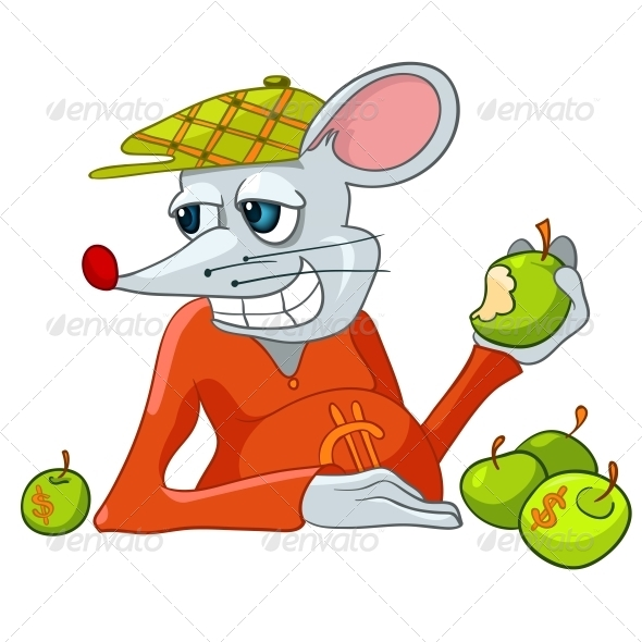 Cartoon Character Rat - Miscellaneous Characters