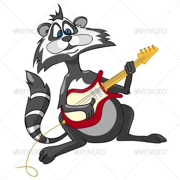 Cartoon Character Raccoon - Miscellaneous Characters