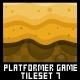 Platformer Game Tile Set 7 - GraphicRiver Item for Sale