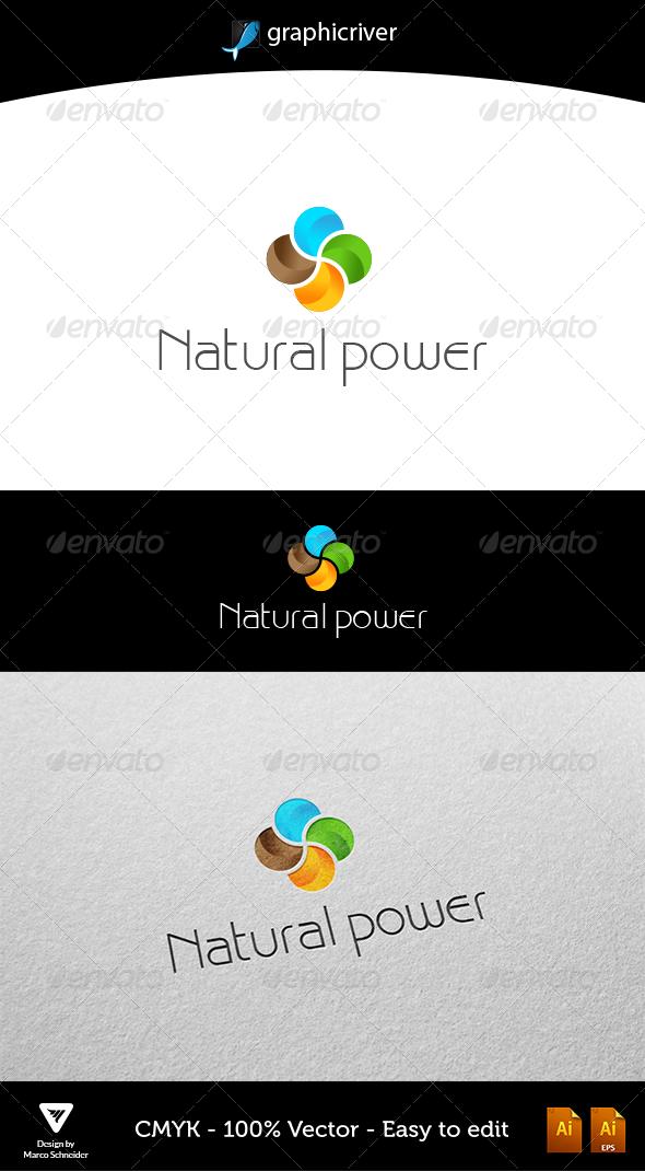 Natural Power - Logo Templates