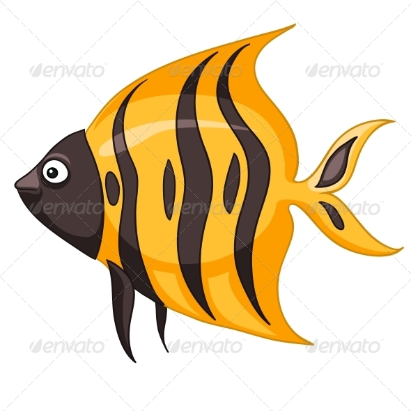 Cartoon Character Fish - Animals Characters