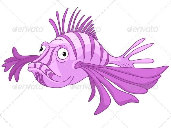 Cartoon Character Fish - Animals Characters