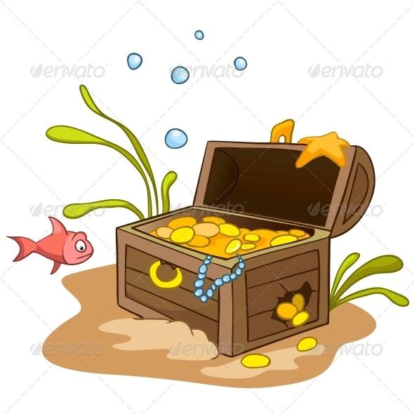 Cartoon Underwater - Animals Characters