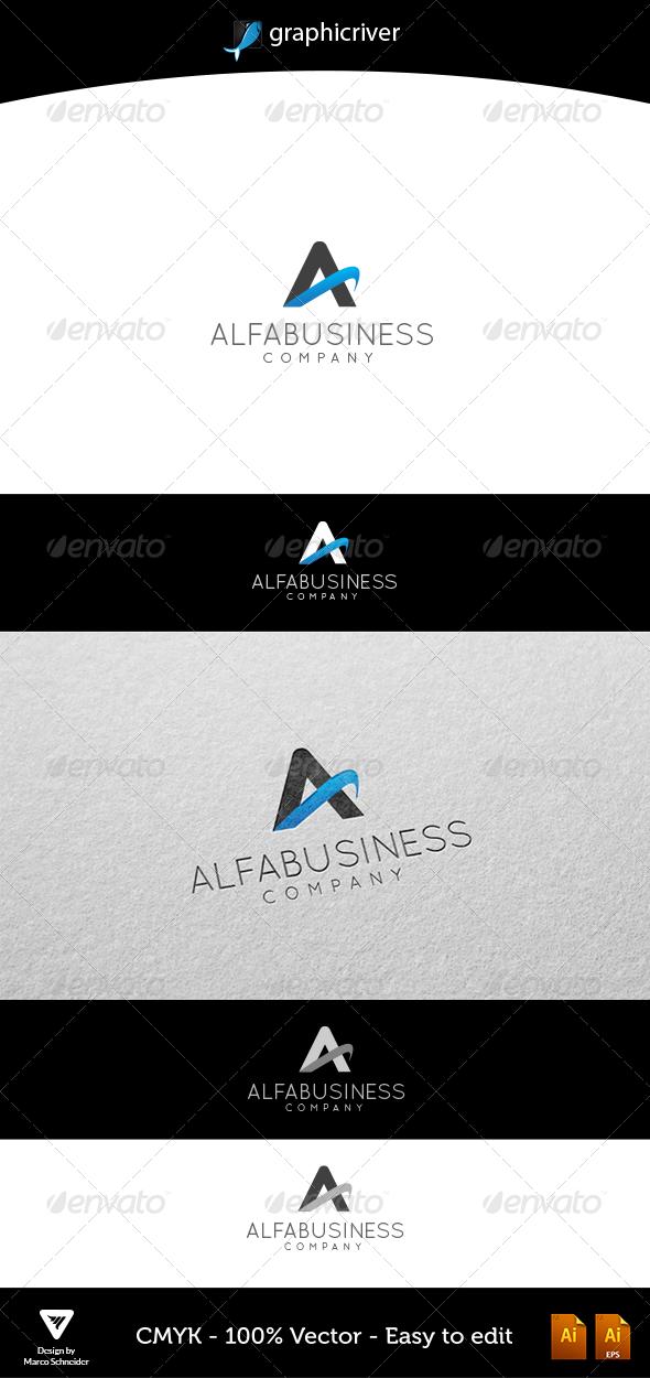 AlfaBusiness - Letters Logo Templates