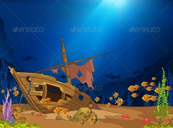 Ocean Underwater World - Animals Characters