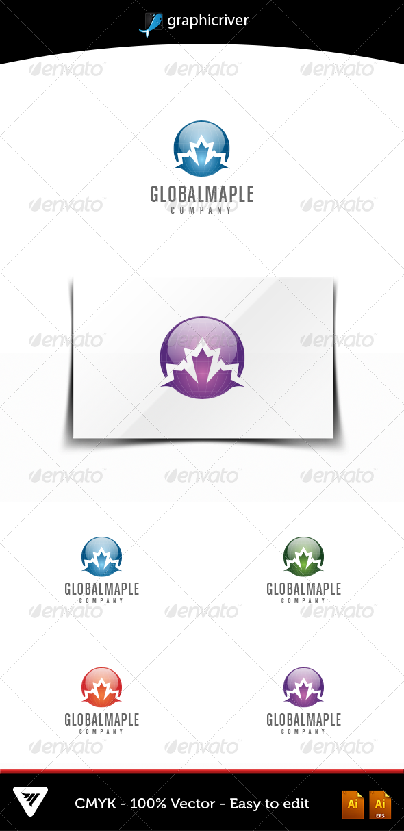 GlobalMaple - Logo Templates