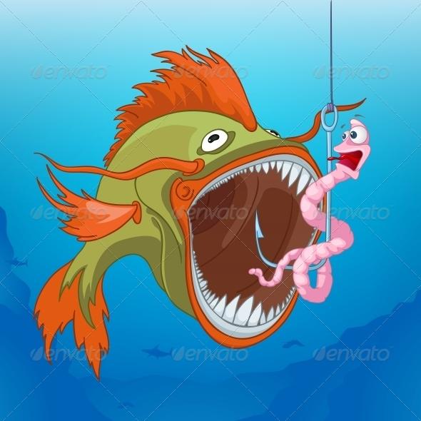 Fishing - Animals Characters