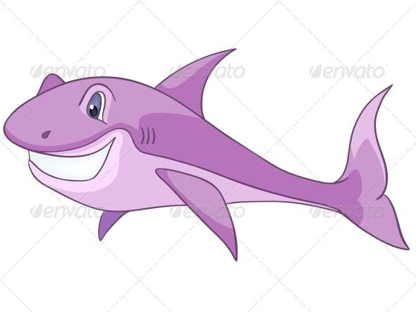 Cartoon Character Shark - Animals Characters