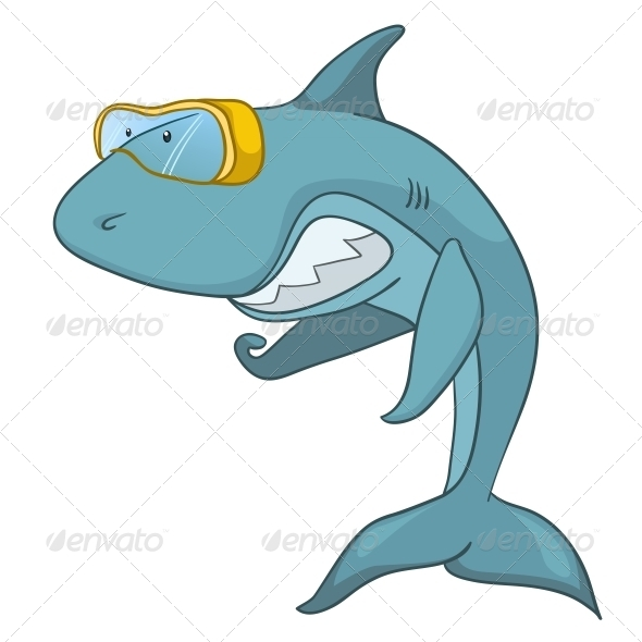 Cartoon Character Shark - Animals Characters