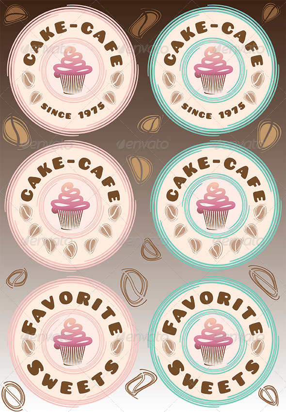 Cupcake and Coffee - Food Objects