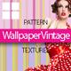Wallpaper Vintage Textures - 3DOcean Item for Sale
