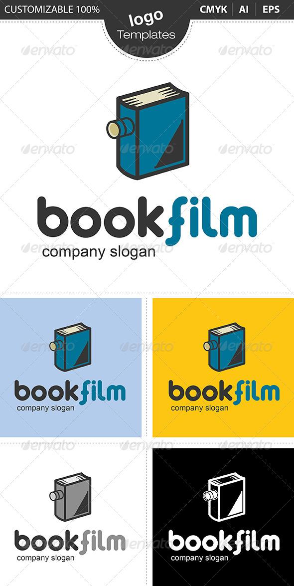 Bookfilm Logo - Symbols Logo Templates