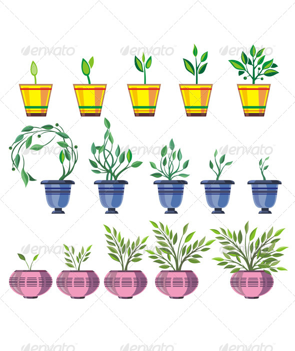 Plants - Decorative Symbols Decorative