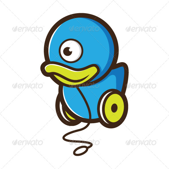 Mutant Duck Toy - Characters Vectors