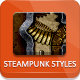 Steampunk And Vintage - Photoshop Styles