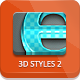 3D Text Styles - Part 2 - GraphicRiver Item for Sale