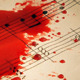Blood Drops on Music Sheets - VideoHive Item for Sale