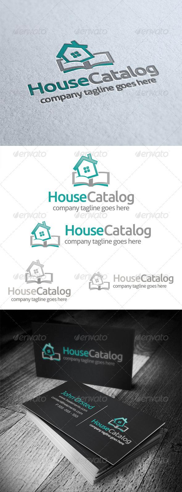 House Catalog Logo - Buildings Logo Templates