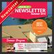 Hotel Newsletter - GraphicRiver Item for Sale