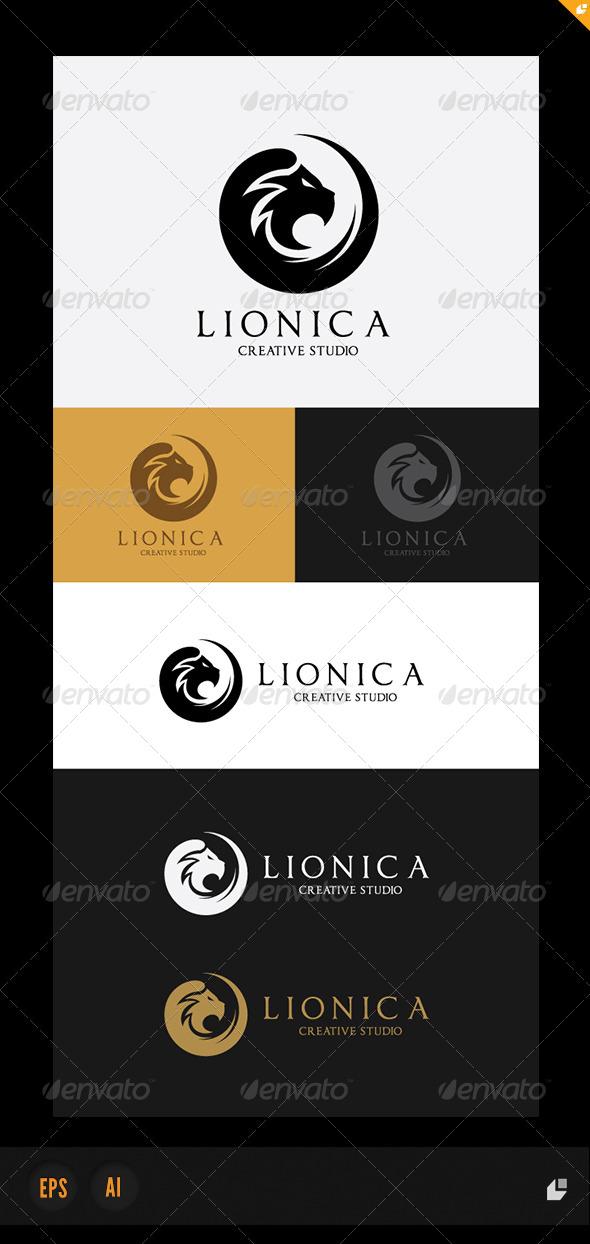 Lionica Logo - Crests Logo Templates