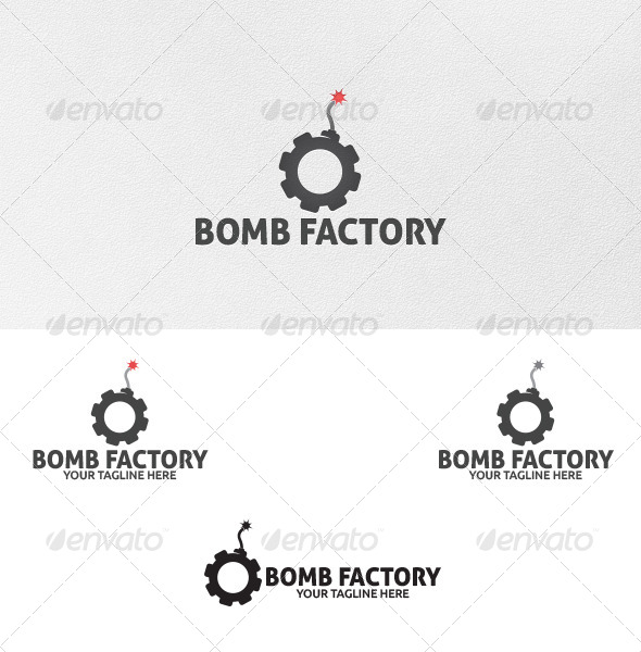 Bomb Factory - Logo Template - Objects Logo Templates