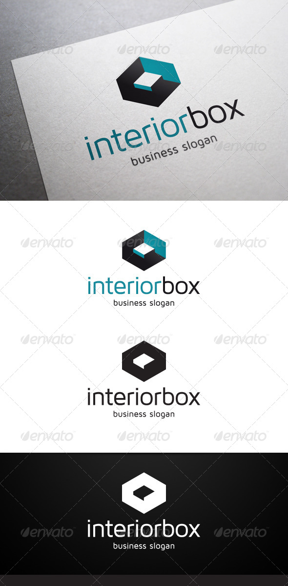 Interior Box Logo - Abstract Logo Templates
