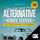 Alternative Festival Poster / Flyer - GraphicRiver Item for Sale