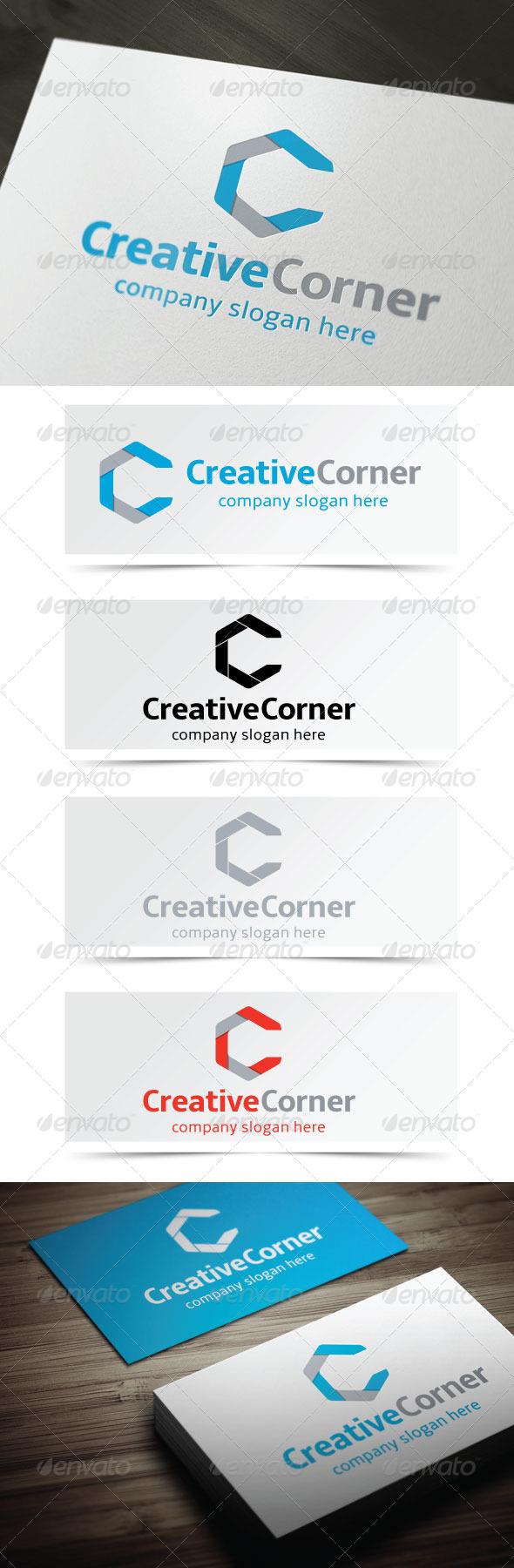 Creative Corner - Letters Logo Templates