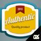 6 Colorful Retro Badges  - GraphicRiver Item for Sale