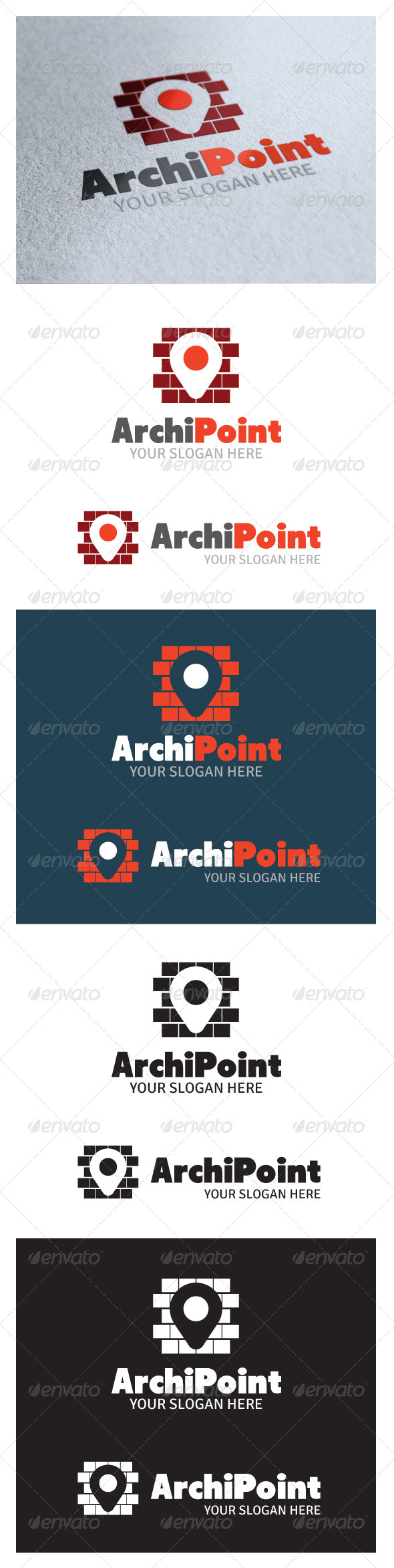 Arhipoint Logo - Buildings Logo Templates