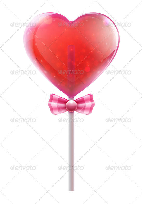 Candy Lollipop - Food Objects