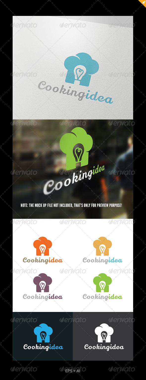 Cooking  Idea Logo - Food Logo Templates