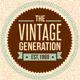 Trendy Vintage Vector Design Elements Set - GraphicRiver Item for Sale